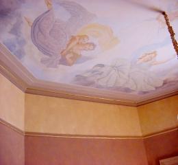 tiepolo inspired ceiling mural